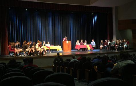 2018 Language Honors' Society Inductees