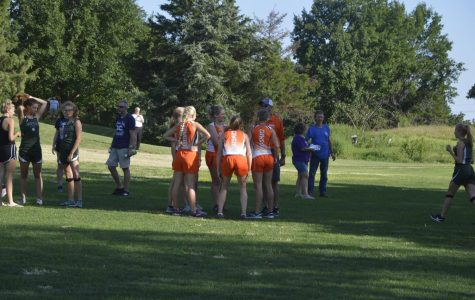 Cross Country Dashes into Second; Third