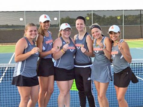 Abilene High School's girls tennis team