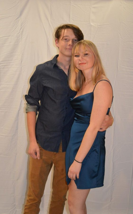 Austin Davis and Rebecca Scheller
