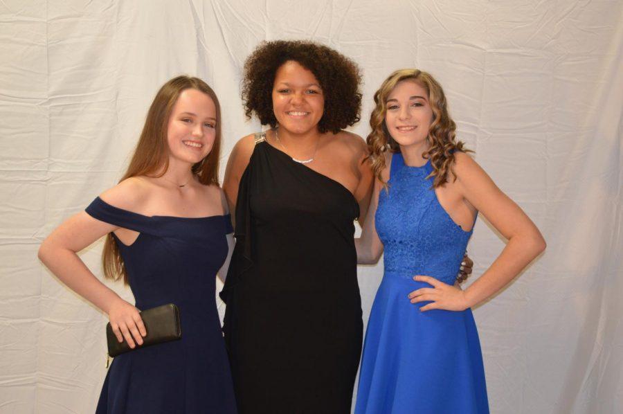 Grace Therington,Tamia Mays and Samantha Butler