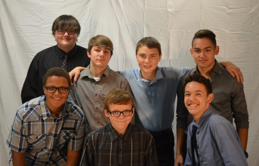 Connor Sloan, Jerry Sellers, Dakota Woods, Maxwell Callahan, Dylan McMillan, Mikuas Mazo and Hovie Meehan