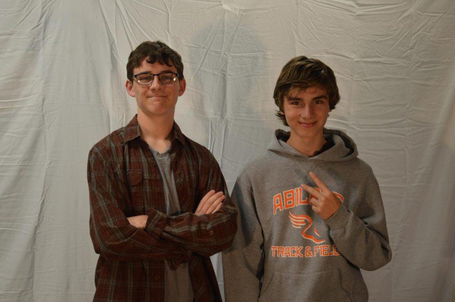 Mathew Walters and Mason Cook