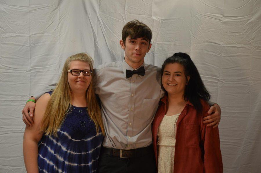 Macy Hottman, Mason Leatherman and Savanhah Liester