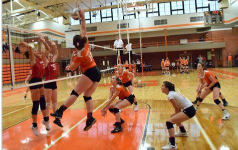 Varsity Volleyball Abilene vs. Clay Center