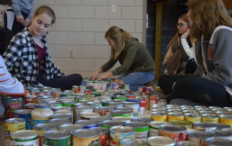 Update On the Canned Food Drive