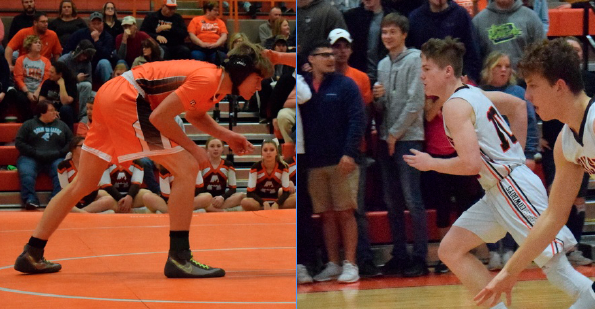 Braydon Surritte and Wyatt Davis have both provided excellent backup options as seniors in their respective winter sports.