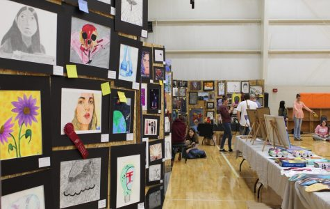 AHS Student Hosts Art Show for All