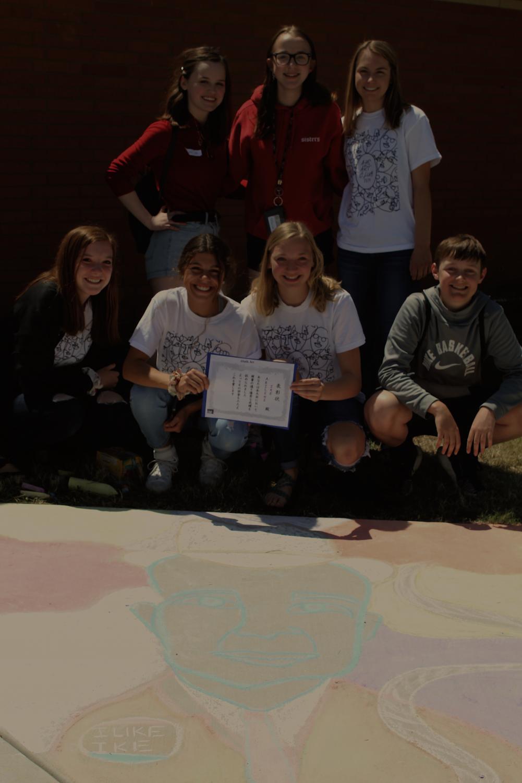 Ike+Chalk+Drawing+form+Abilene+gets+1st+Place