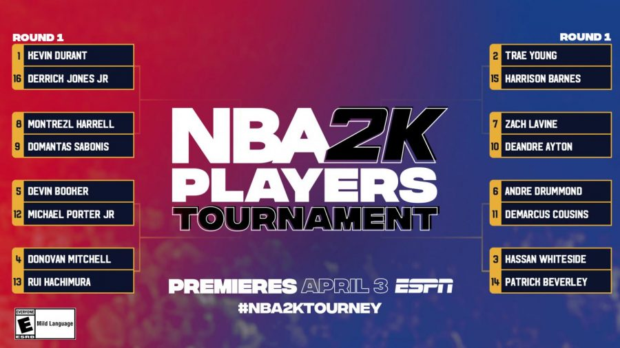 When NBA players can't play their usual schedule due to coronavirus restrictions, we now have NBA2K to get excited about.