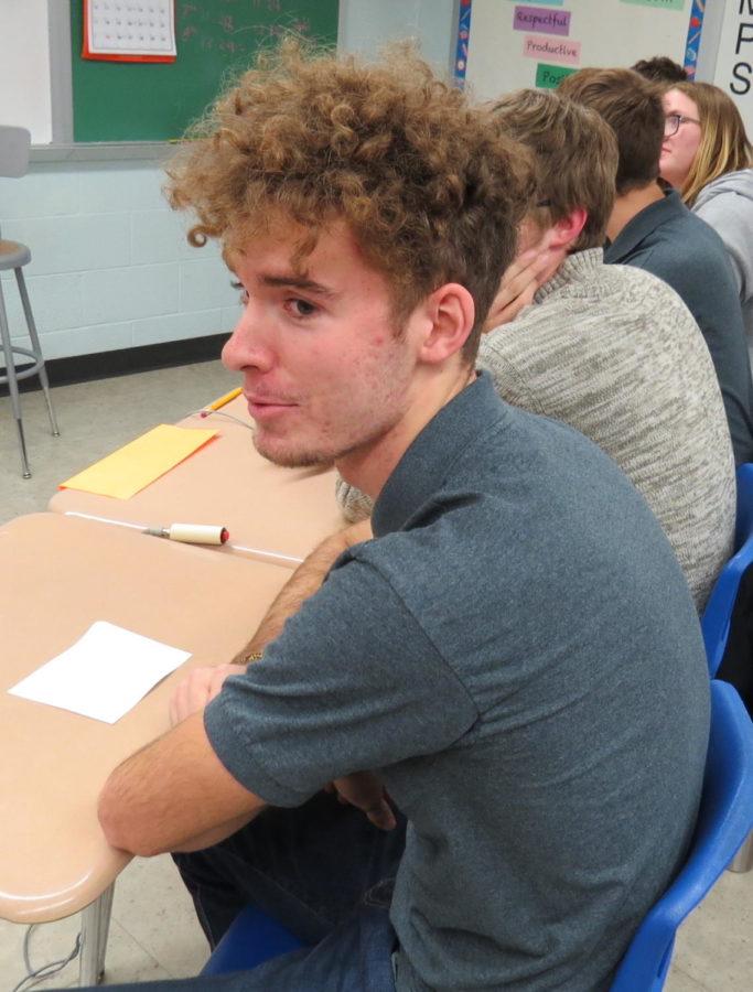 Senior, Ben Wright