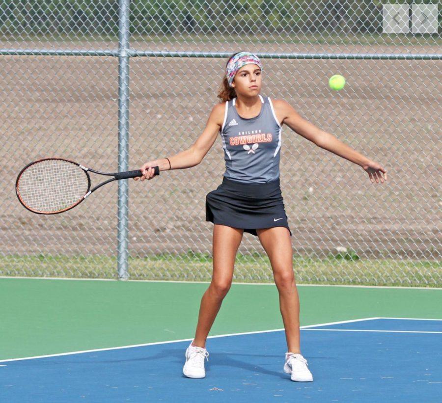 Abilene VS Chapmen Tennis Meet