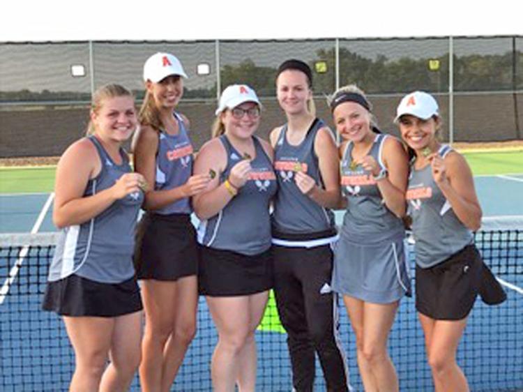 Abilene High School's girls tennis team