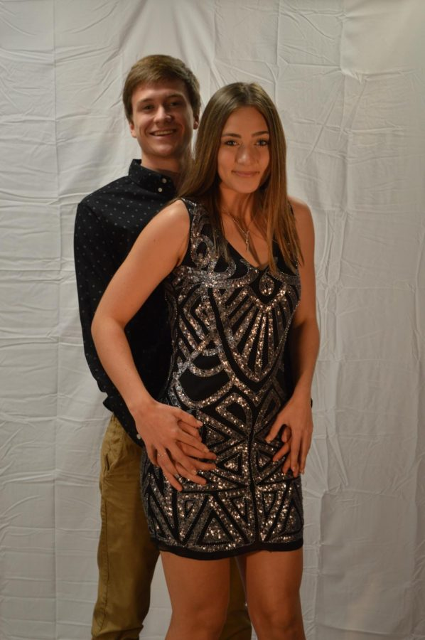 Dylan Scherbring and Sarah Samuel