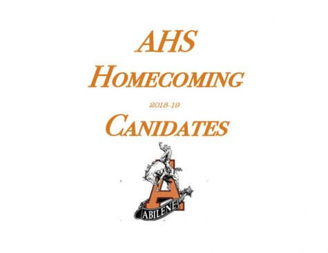 2018 Homecoming Candidate Profiles