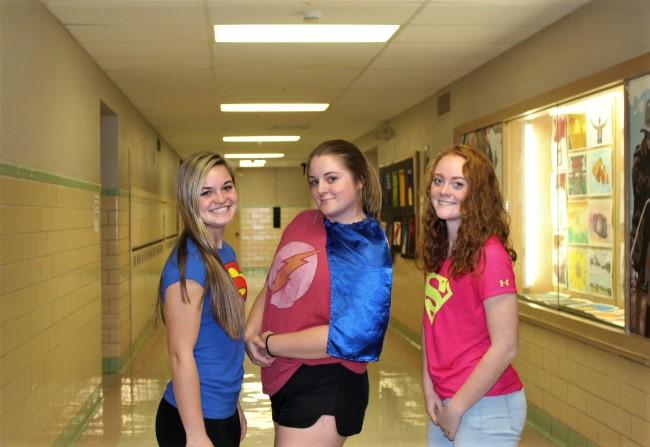 Hero VS Villian homecoming day