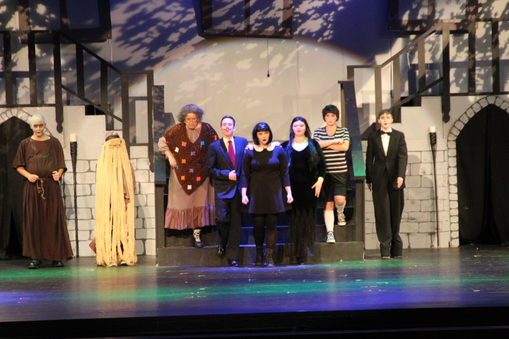 Cast of Addams Family