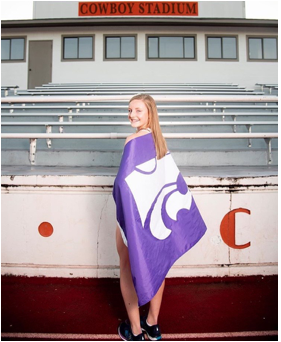 Sydney has decided to take her talents to Kansas State University. (Photo: Jaden Walters)