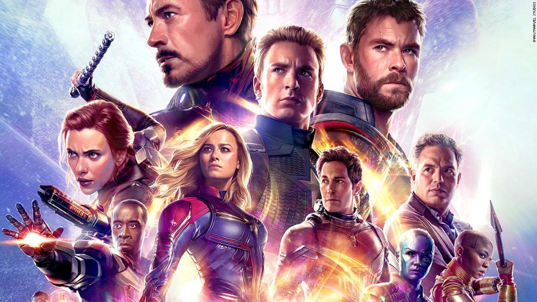 The poster for Endgame.