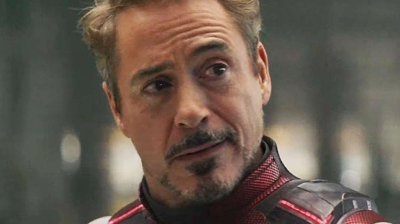 Tony Stark has one of the strongest performances of the movie.