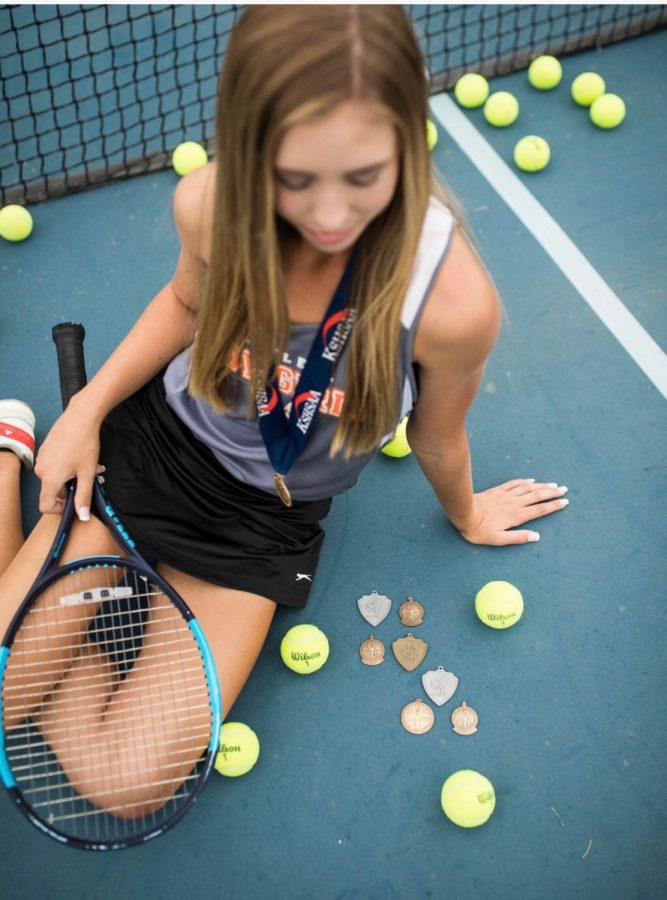 Game, set, match! A Deeper Look Into AHS' Tennis Queen