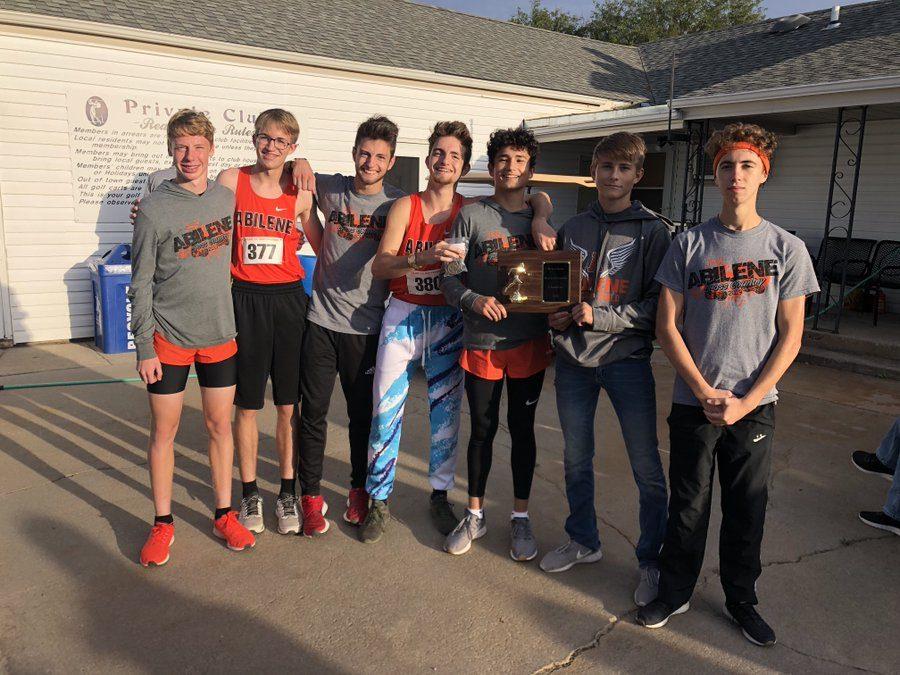Varsity Boys XC ran their way to a win at Beloit