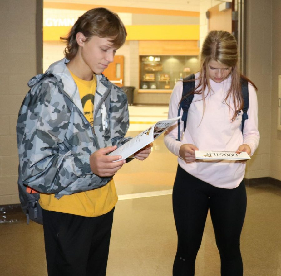 Print is Back!  Booster Student Newspaper Gets Ink Again.
