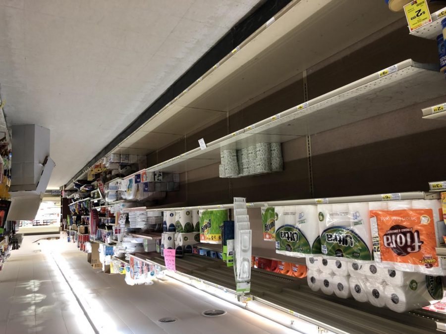 Keeping store shelves stocked has been a challenge.